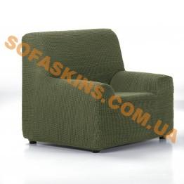 Чехол на кресло Гламур Зеленый