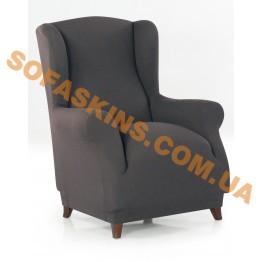 Чехол на кресло Вилоу Серый