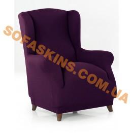 Чехол на кресло Вилоу Фиолетовый